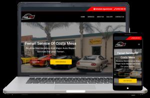 Ferrari Service - Website Client