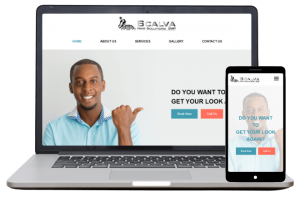 Scalva Hair Solutions - Website Client