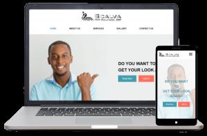Scalva Hair Solutions - Website Client