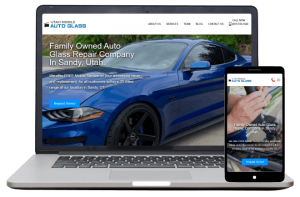Utah Mobile Auto Glass - Website Client