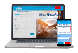 Miami Motor Coach - Website Client